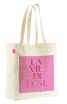 "sac tote bag missiu ""la vie en rose"""