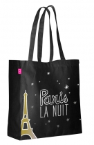 "Tote bag missiu ""PARIS LA NUIT"""